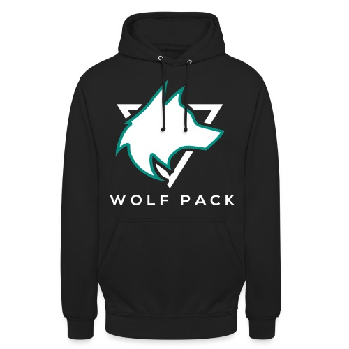 Wolf Pack Logo (NEW) - Unisex Hoodie