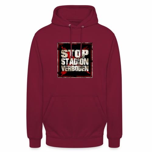 Stop stadionverboden - Sweat-shirt à capuche unisexe
