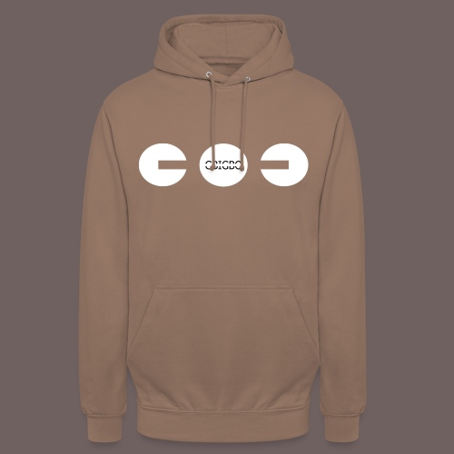 GBIGBO zjebeezjeboo - Fun - Packman 01 - Sweat-shirt à capuche unisexe