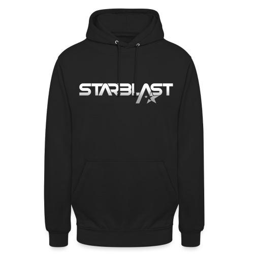 DJ STARBLAST 3D WHITE - Sweat-shirt à capuche unisexe