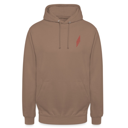 ERROR - Sweat-shirt à capuche unisexe