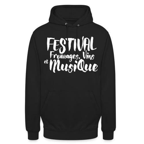 Festival FVM - Sweat-shirt à capuche unisexe