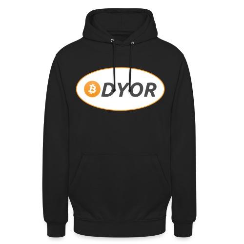 DYOR - option 2 - Unisex Hoodie