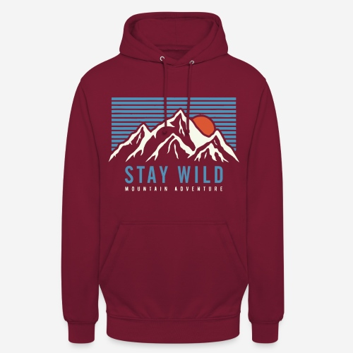 mountain stay wild - Unisex Hoodie