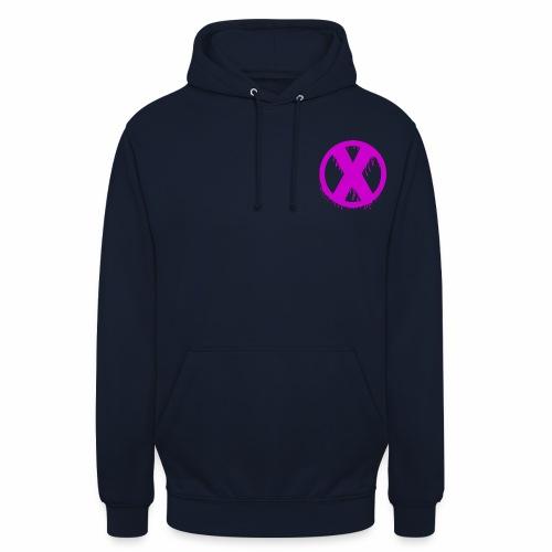 X - Sweat-shirt à capuche unisexe