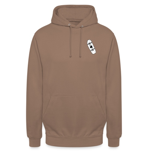 SKATE CLAYZER DESIGN UNISEXE - Sweat-shirt à capuche unisexe