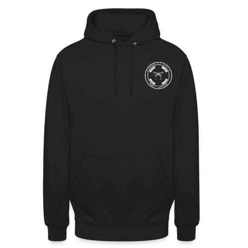 PSC Budo Emblem weiß png - Unisex Hoodie