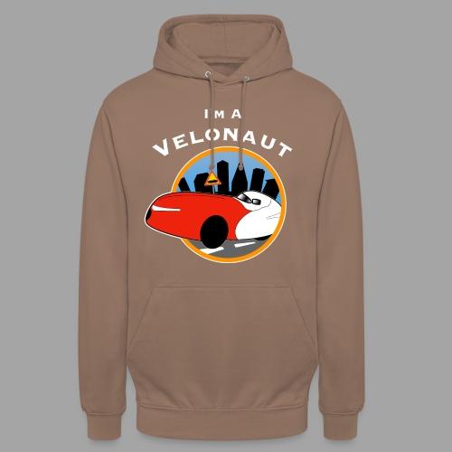 "Im a velonaut - Huppari ""unisex"""