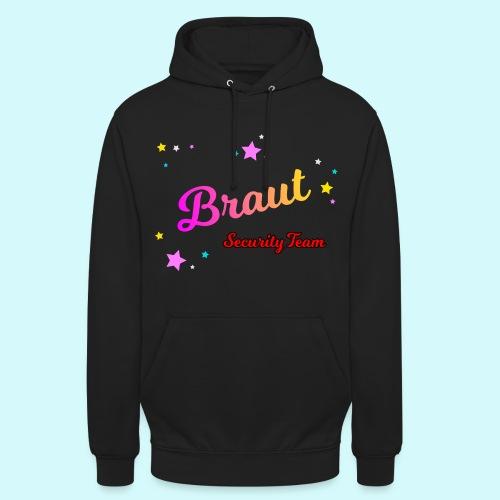 Braut Security Team Bunt - Unisex Hoodie