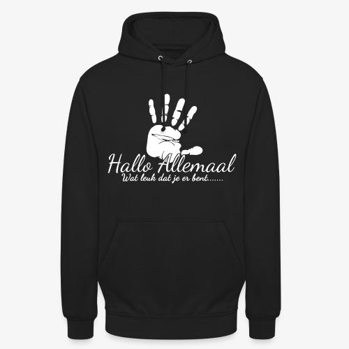 Hallo Allemaal - Hoodie unisex