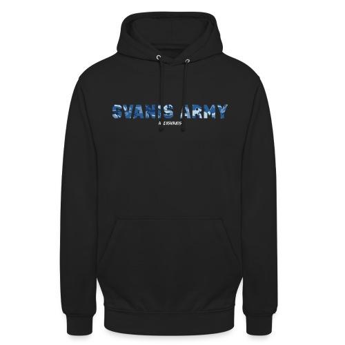 SVANIS ARMY (ALEXSVANIS VIT) - Luvtröja unisex