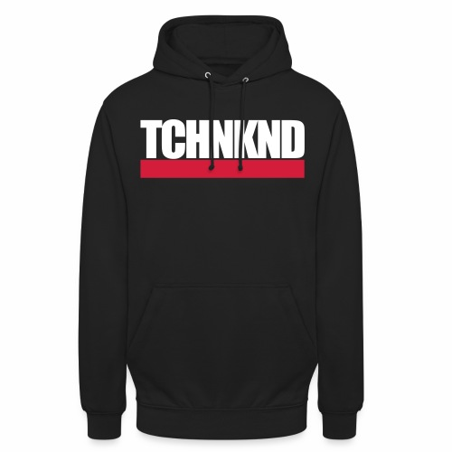TCHNKND Technokind MNML Schriftzug - Unisex Hoodie