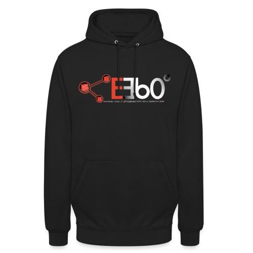 Nuovo Logo E360 Bianco slogan png - Felpa con cappuccio unisex