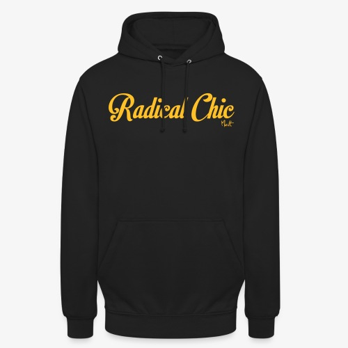 radical chic - Felpa con cappuccio unisex