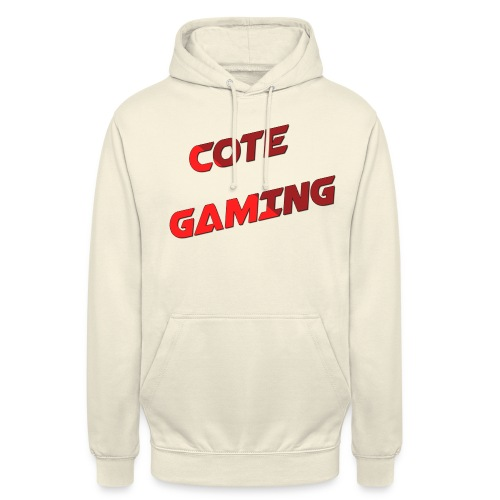 Cote Sweater Rode Letters - Unisex Hoodie
