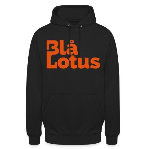 Blå Lotus_logo - Luvtröja unisex