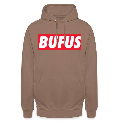 BUFUS - Felpa con cappuccio unisex