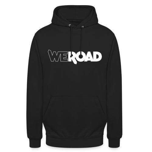 Logo WeRoad Bianco - Felpa con cappuccio unisex