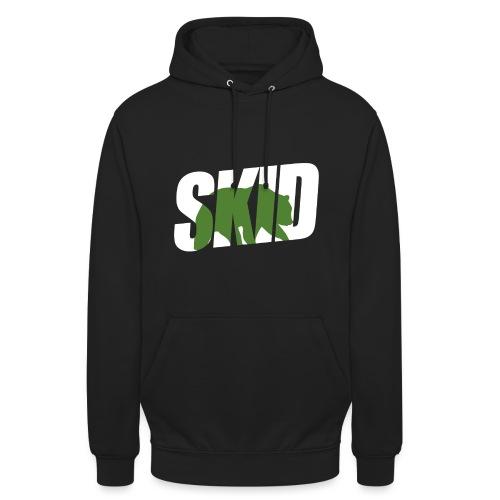 skid massive bear - Sweat-shirt à capuche unisexe