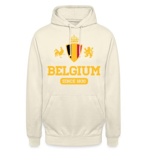 depuis 1830 Belgique - Belgium - Belgie - Sweat-shirt à capuche unisexe