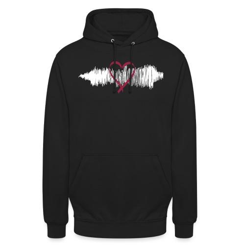Music Heart - Unisex Hoodie