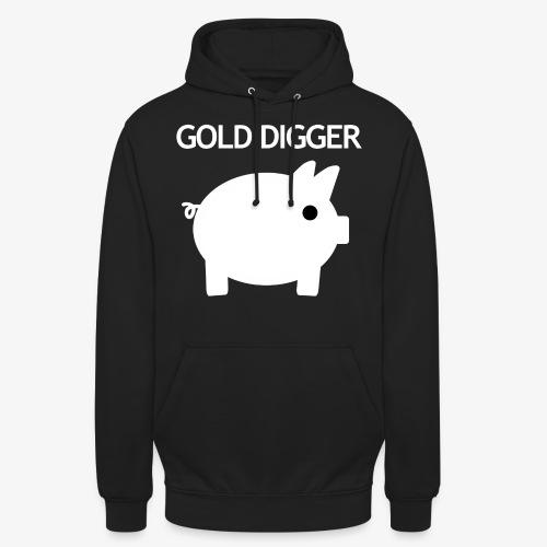 Goudzoeker (zwart) - Hoodie unisex