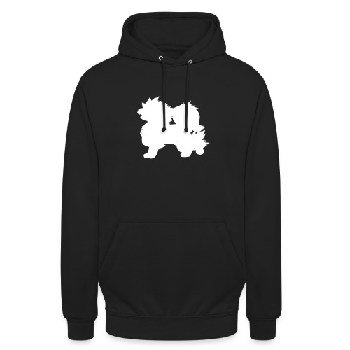 All white Arcanine Merch - Sweat-shirt à capuche unisexe