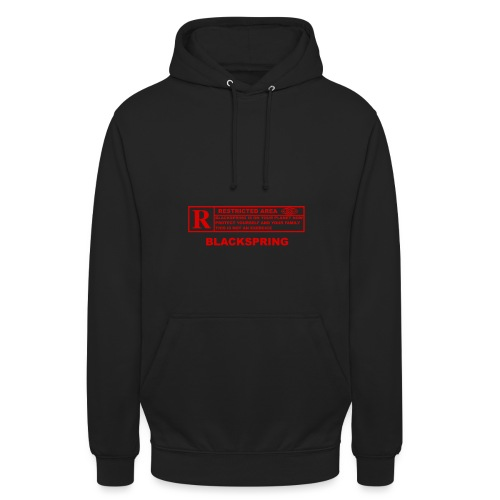 BLACK SPRING png - Sweat-shirt à capuche unisexe