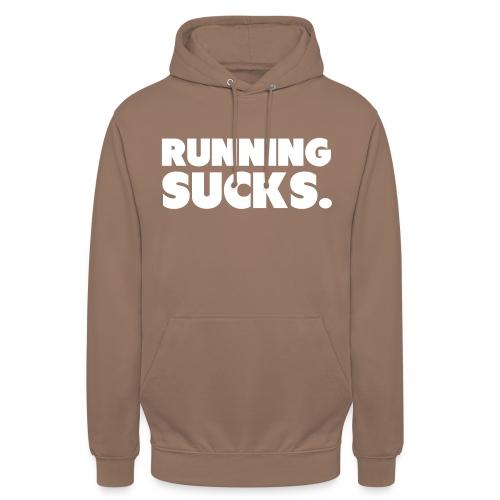 """Running Sucks - Huppari """"unisex"""""""