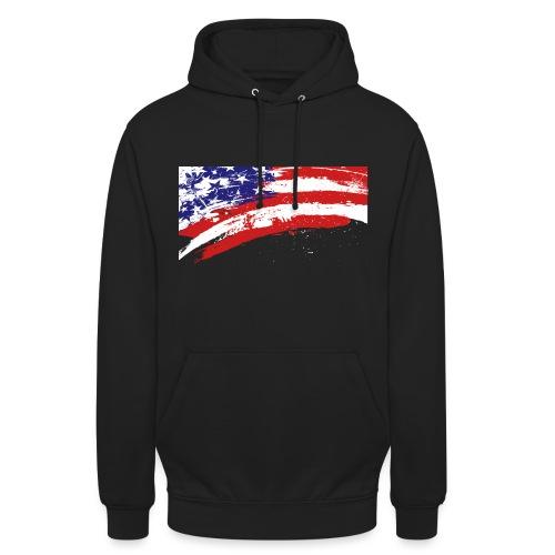 USA - Sweat-shirt à capuche unisexe