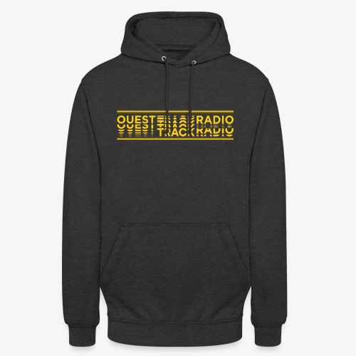 Logo Long jaune - Sweat-shirt à capuche unisexe