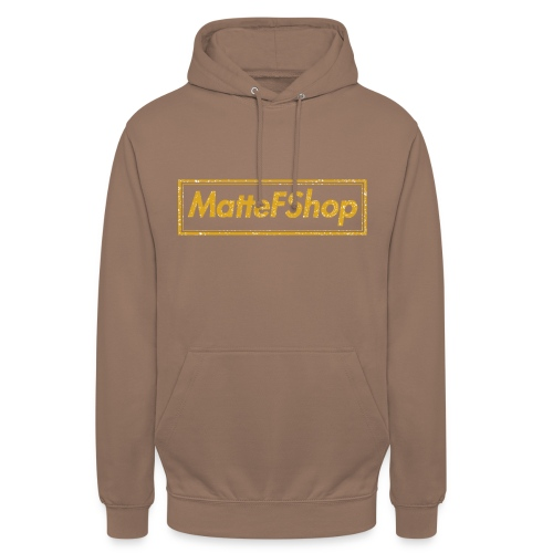 Gold Collection! (MatteFShop Original) - Felpa con cappuccio unisex
