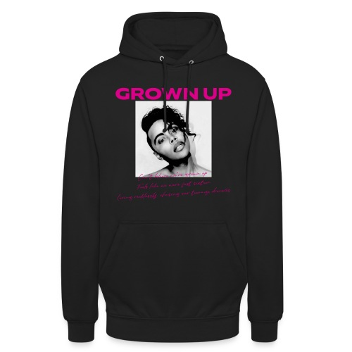 GROWN UP LYRIC PULLOVER HOOD - Unisex Hoodie