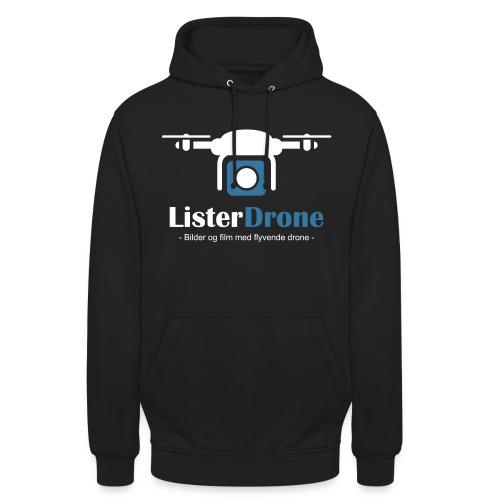 ListerDrone logo - Unisex-hettegenser