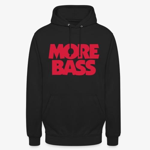 More Bass Bassist Bassisten - Unisex Hoodie