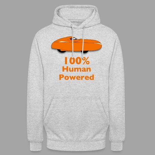"""100% human powered - Huppari """"unisex"""""""