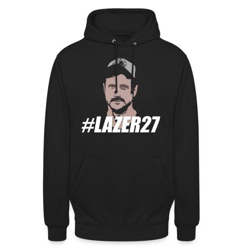 Lazer 27 White - Unisex Hoodie