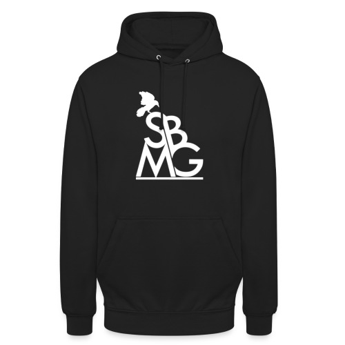 121212SBMGLOGO wit png - Hoodie unisex