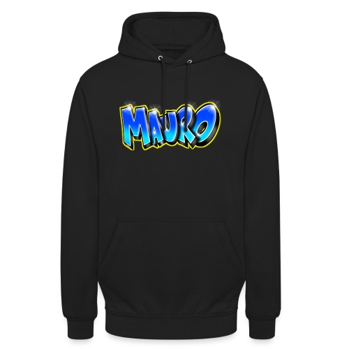 MAURO GRAFFITI NAME - Sweat-shirt à capuche unisexe