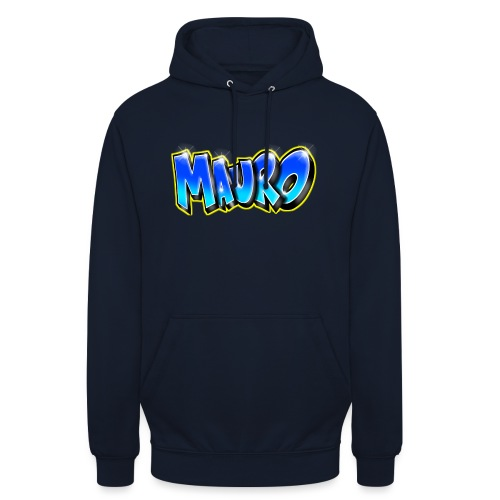 MAURO GRAFFITI NAME - Sweat-shirt à capuche unisexe