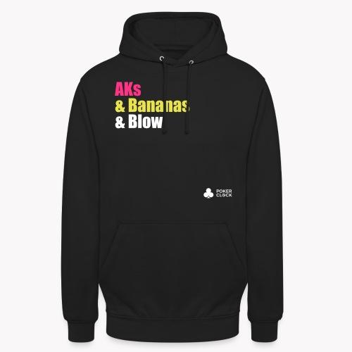 AKs & Bananas & Blow - Unisex Hoodie