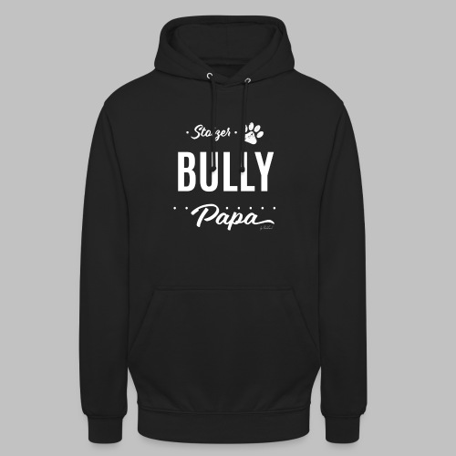 Stolzer Bully Papa - Pfote - Unisex Hoodie