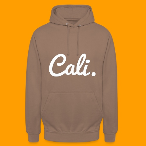 Cali s Logo Weiss - Unisex Hoodie