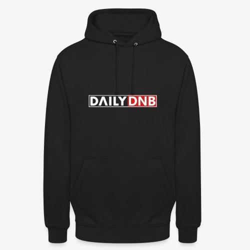 Daily.dnb Black - Unisex Hoodie