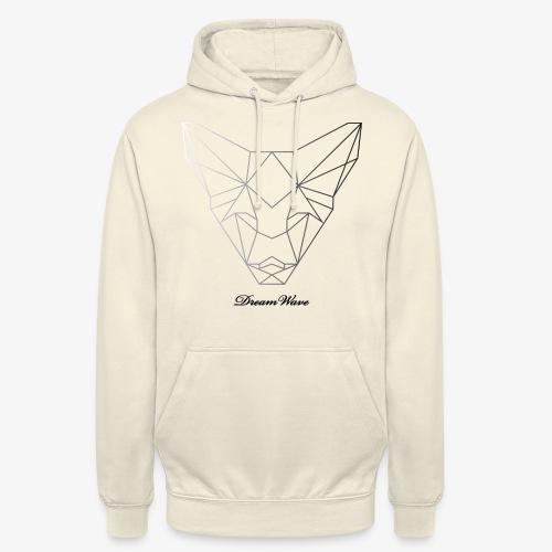 DreamWave Fox/Renard - Sweat-shirt à capuche unisexe