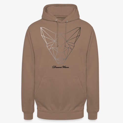 DreamWave Fox/Renard - Sweat-shirt à capuche unisexe