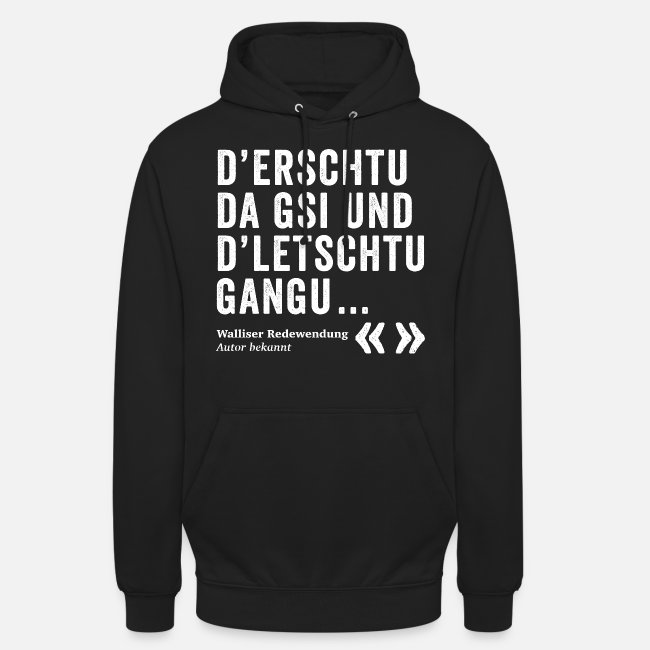 D'ERSCHTU DA GSI, D'LETSCHTU GANGU