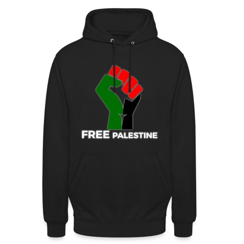 FreePalestine White - Unisex Hoodie