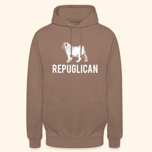 Mops Hund T-Shirt Amerika - Unisex Hoodie