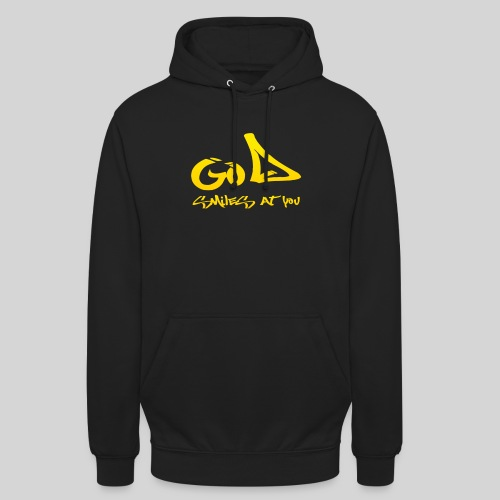 Gott lächelt Dich an - God smiles at you - Unisex Hoodie